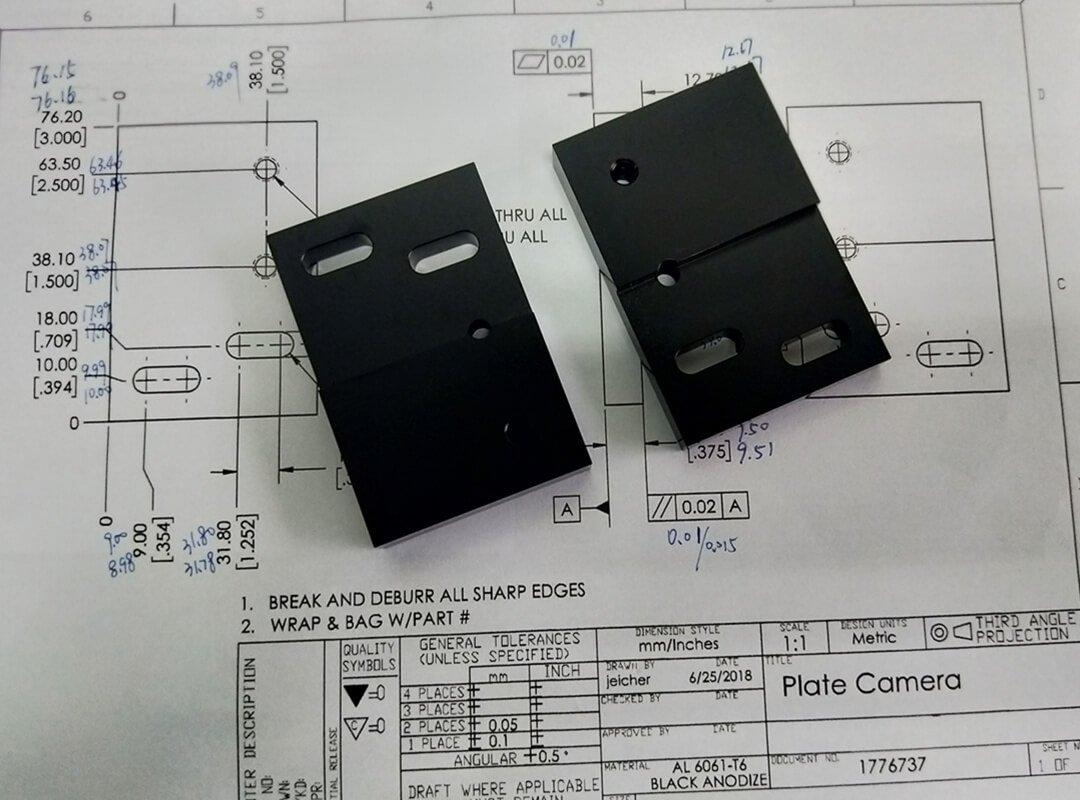 CNC electronic parts